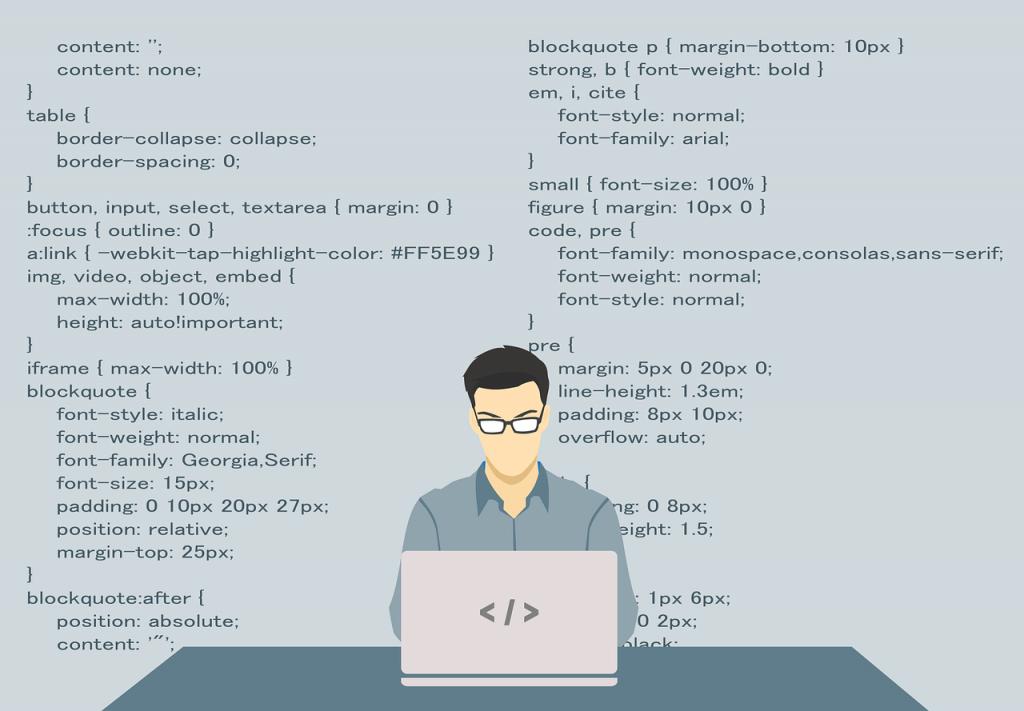 programmeur, programmation, code
