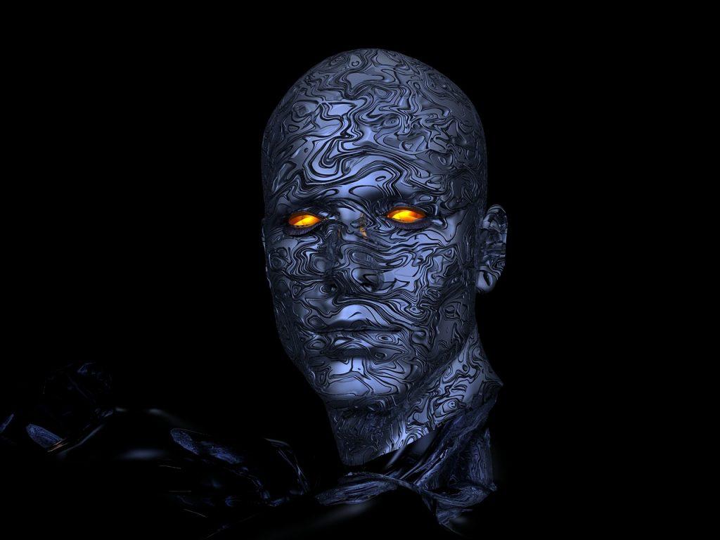 cyborg, robot, diriger