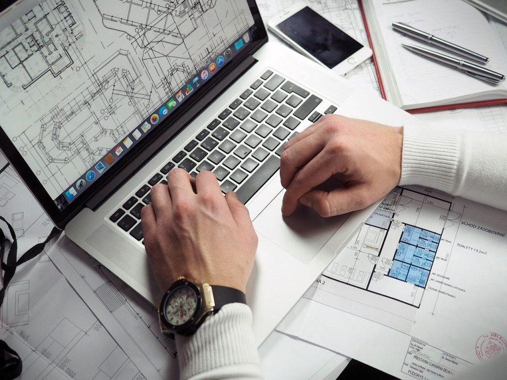 plans, entrepreneur, mains