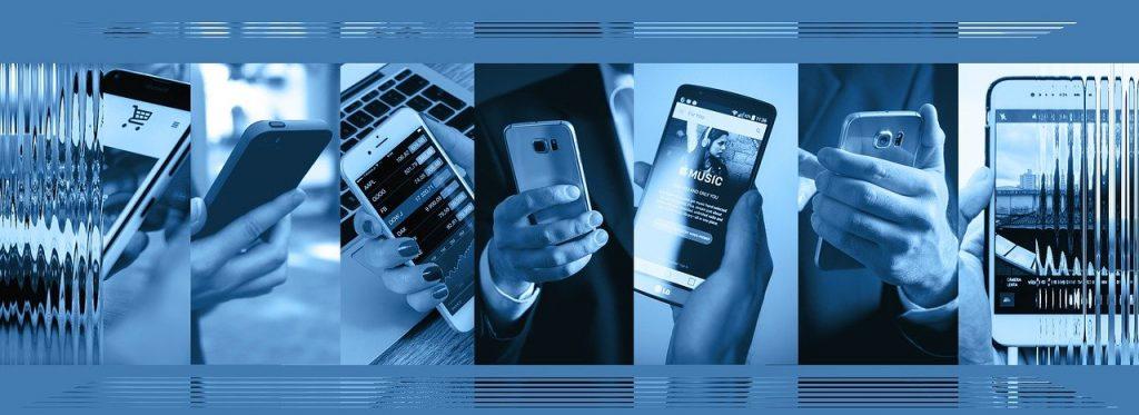 smartphone, main, la technologie